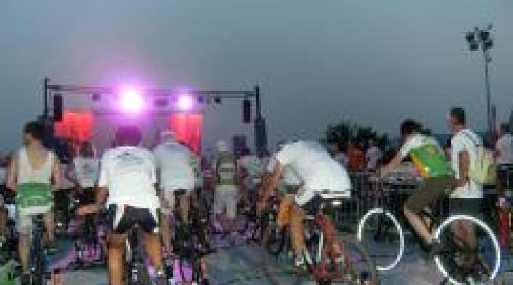 I pedalatori per il palco