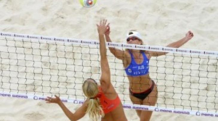 Atleti in tornei su spiaggia