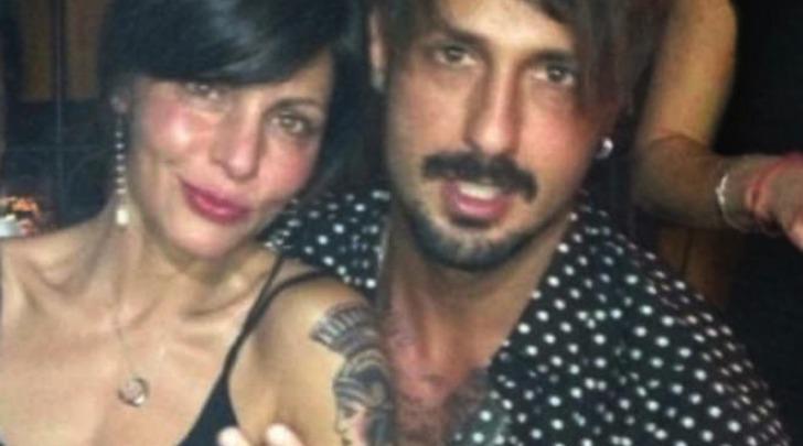 Fabrizio Corona e Francesca Persi