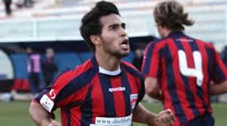 Lucas Chiaretti, con la maglia del Taranto