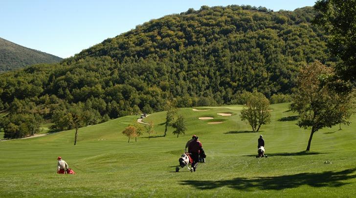 Una delle vedute del San Donato Golf Resort