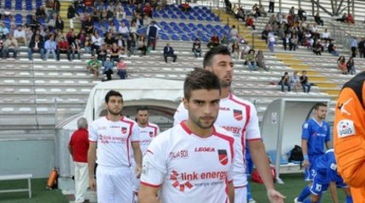 Mirko Petrella, con la maglia del Diavolo