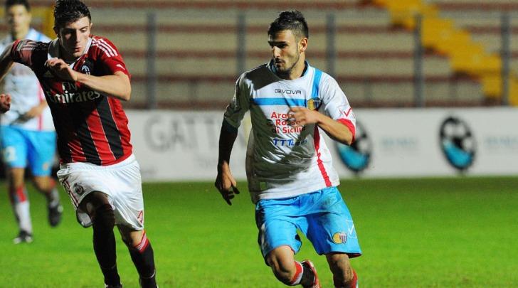 Fabio Aveni in azione