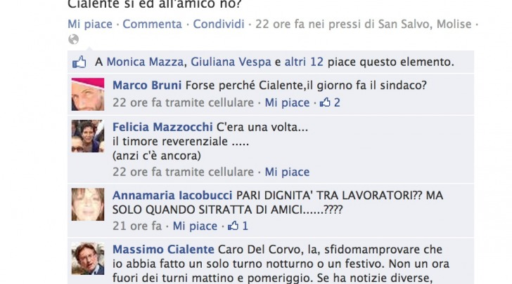 Massimo Cialente e Antonio Del Corvo