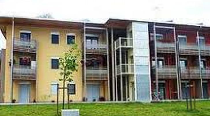 Un edificio del Progetto Case a L'Aquila