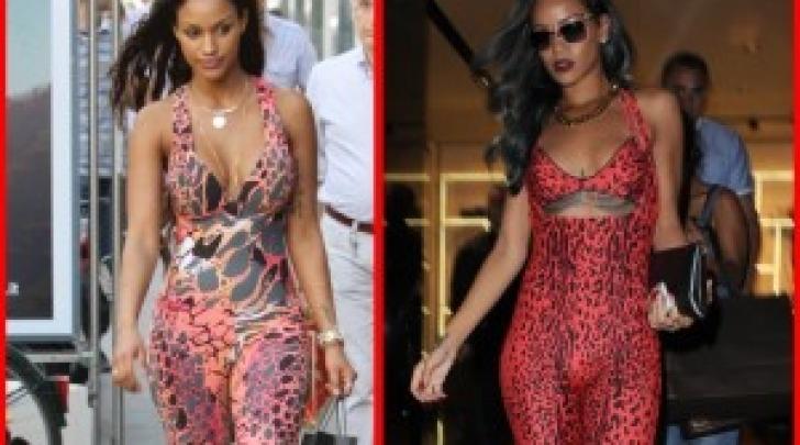 Fanny Neguesha e Rihanna