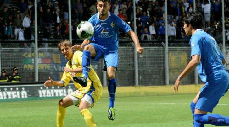 Andrea Scrugli in azione