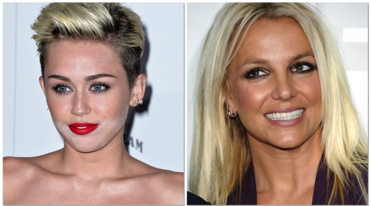 Miley Cyrus - Britney Spears
