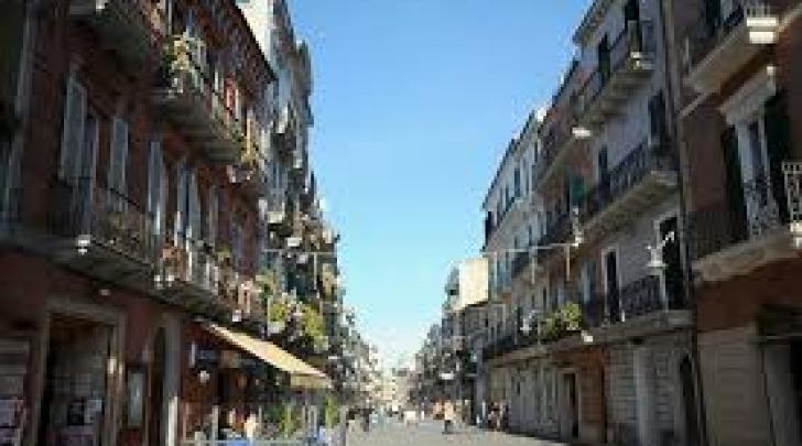 Corso Vittorio Emanuele ad Ortona