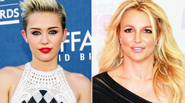 Miley Cyrus e Britney Spears
