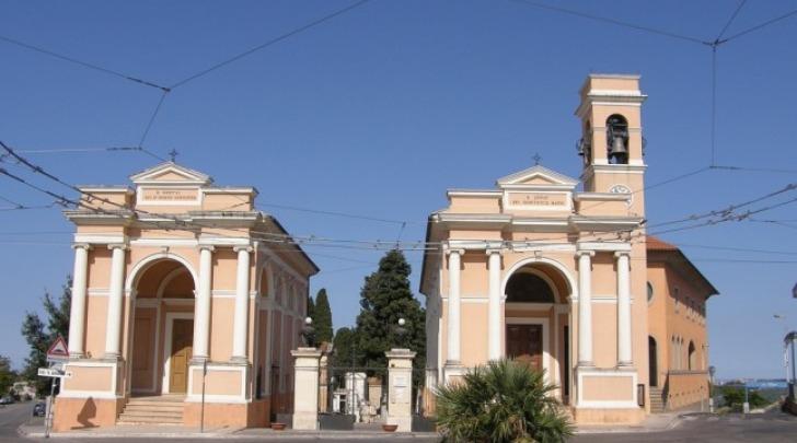 Il vecchio cimitero di Chieti a Sant'Anna