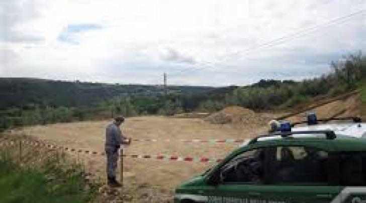 Corpo Forestale dello Stato- sequestro terreni- repertorio