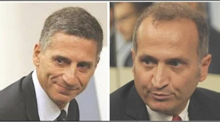 Paolo Aielli e Paolo Esposito, capi uffici della ricostruzione