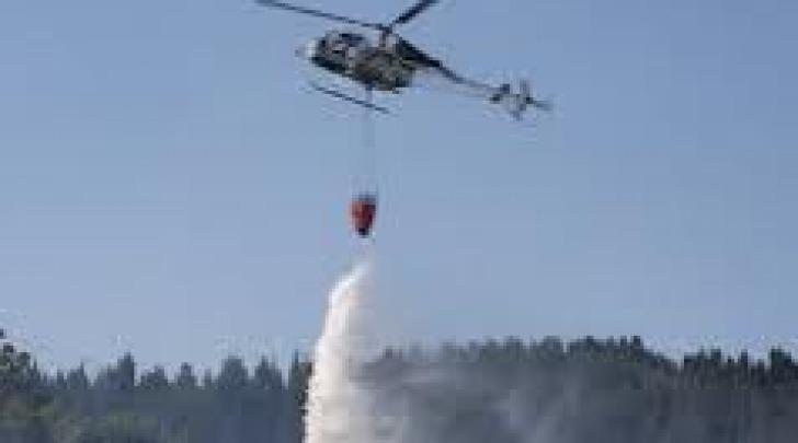 Incendi- intervento elicotteri