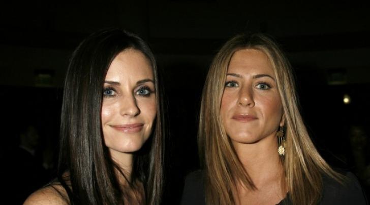 Jennifer Aniston e Courtney Cox