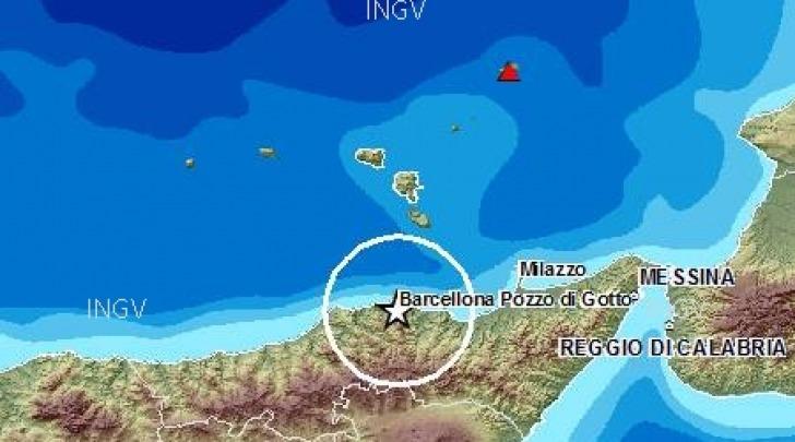 scossa sismica Messina