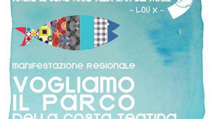 """La locandina di """"Vogliamo il Parco della Costa Teatina"""""""