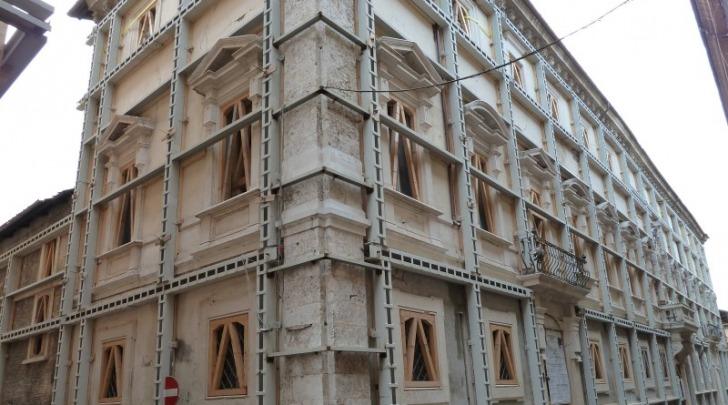 Palazzo Dragonetti - De Torres messo in sicurezza