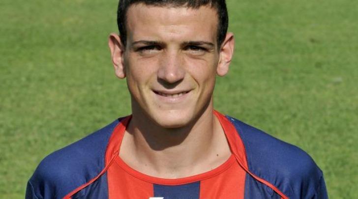 Fabrizio Massimo Bramati con la maglia del Crotone