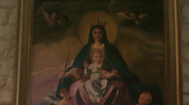 La Madonna con bambino e cardellino