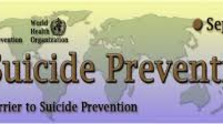 Giornata mondiale prevenzione suicidio