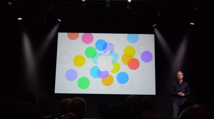 Evento Apple Keynote
