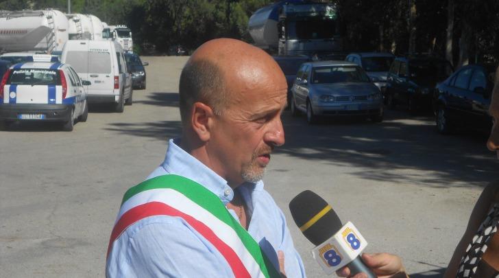 Il sindaco di Scafa Maurizio Giancola