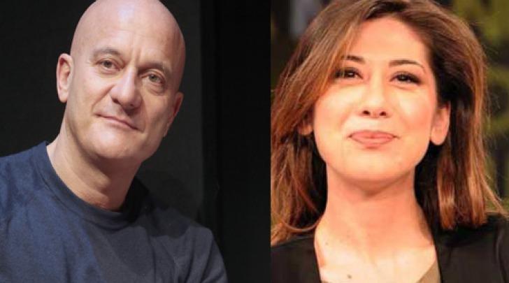 Claudio Bisio e Virginia Raffaele