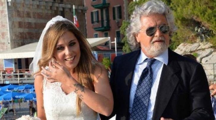 Beppe Grillo e Valentina Scarnecchia