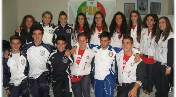 I 15 giovani atleti convocati per il mondiale