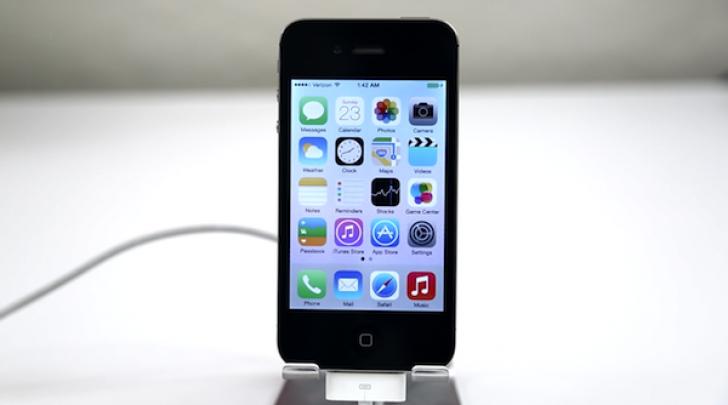 iPhone 4 iOS7