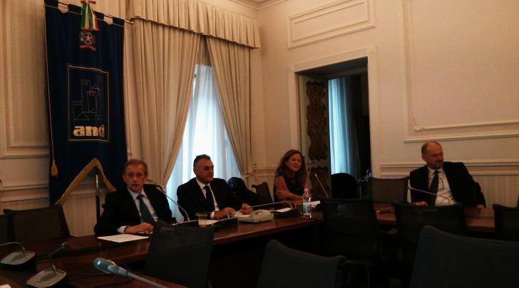 L'incontro di Luciano Monticelli e altri sindaci con Piero Fassino