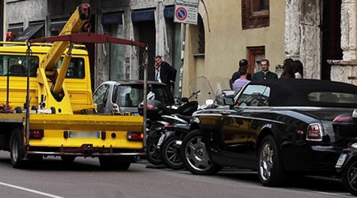 Claudia Galanti Rolls Royce