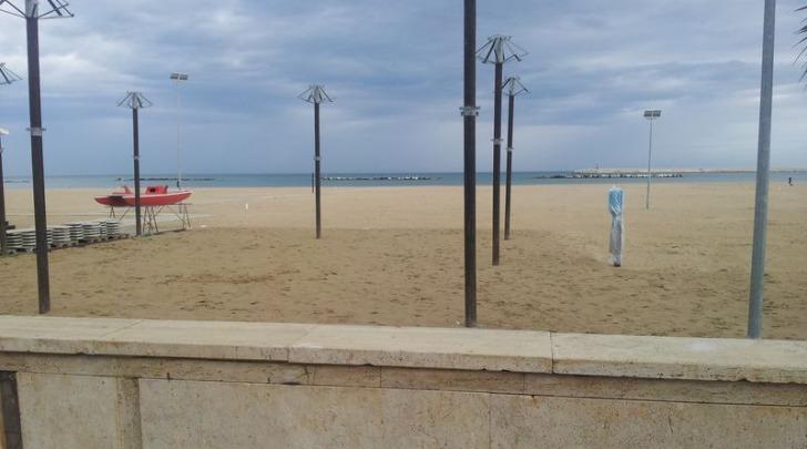 La spiaggia di Pescara