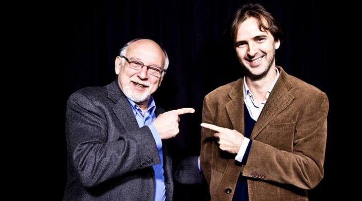 Vittorio Zucconi e Edoardo Buffoni di Radio Capital