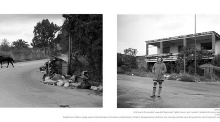 Due foto di Emanuela Colombo scattate ad Archi-Reggio Calabria