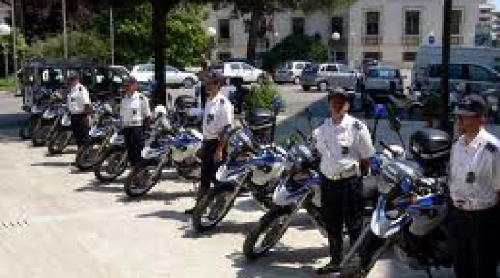 La Polizia Municipale di Pescara