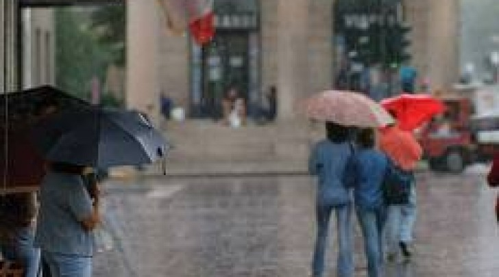 Week end - pioggia