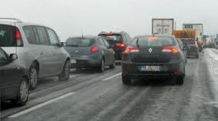 Coda chiusura autostrada