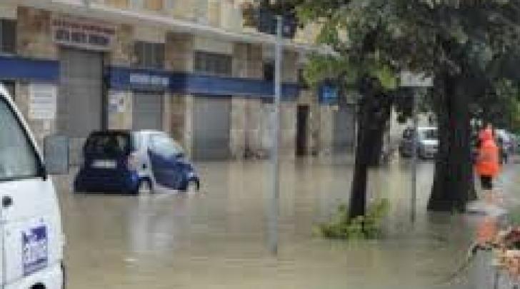 Strade allagate Pescara