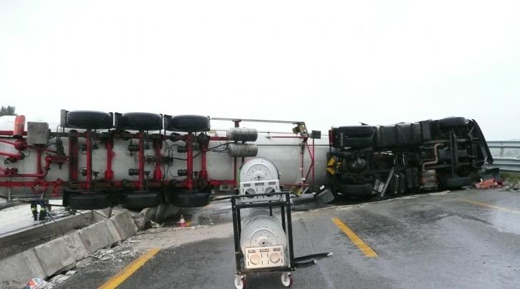Foto del Nucleo Regionale NBCR Vigili del Fuoco