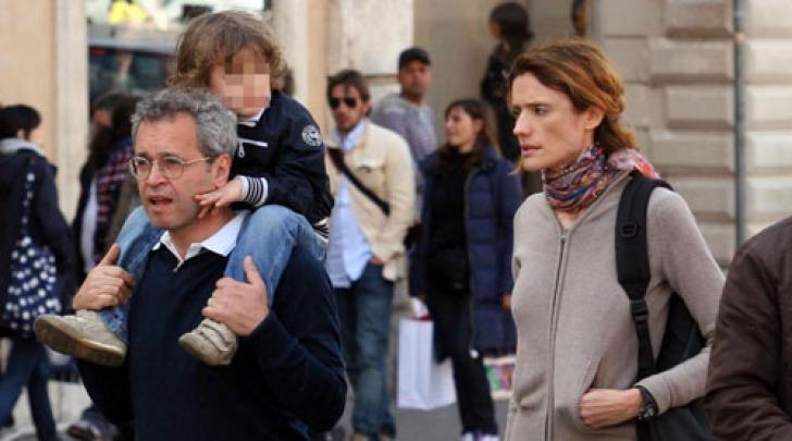 Enrico Mentana e Michela di Torrepadula