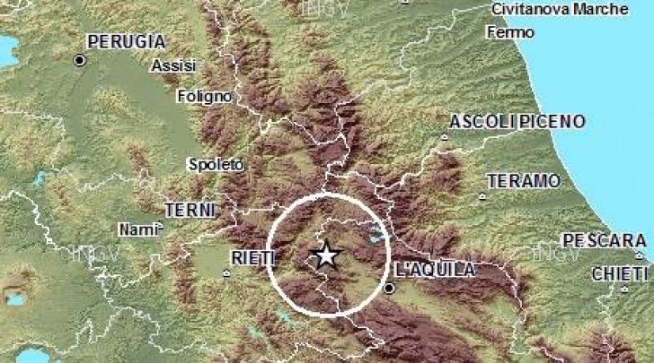 Mappa sismica