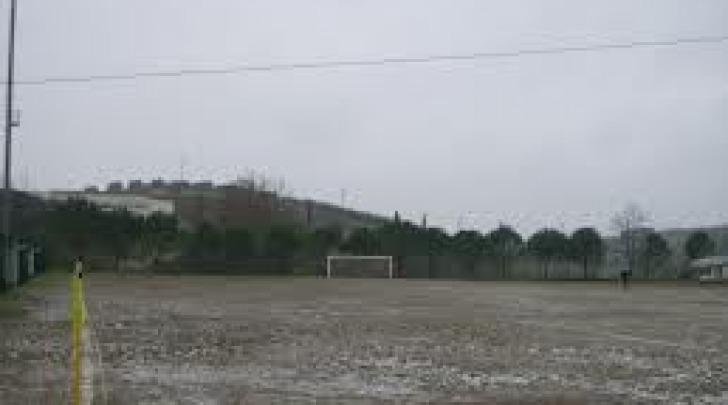 Campo impraticabile per pioggia