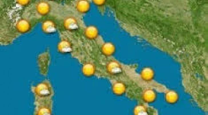 Cartina meteo - sereno