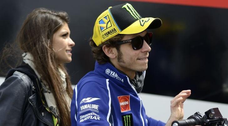 Valentino Rossi e Linda Morselli