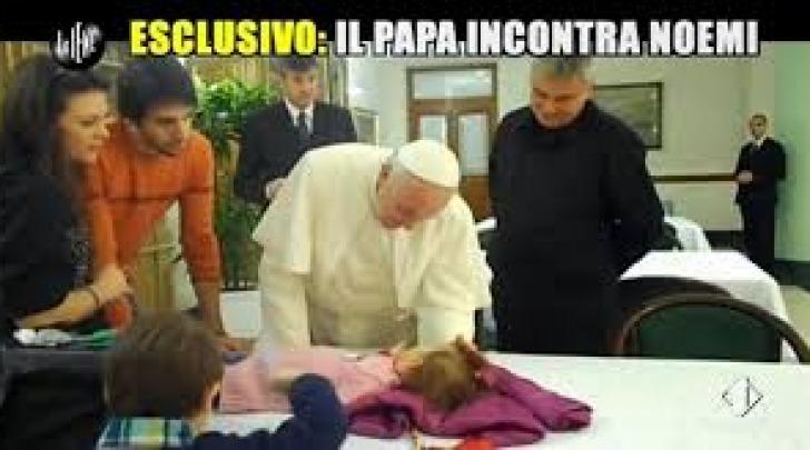 Noemi e Papa Francesco