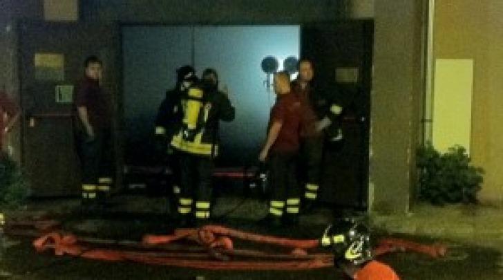 Incendio del teatro Fellini