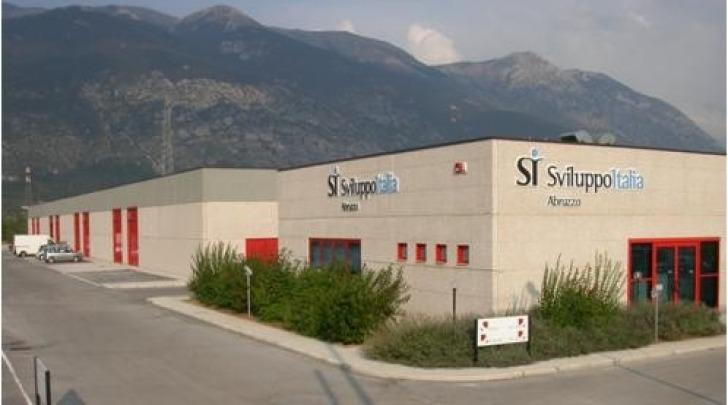 La sede Abruzzo Sviluppo di Sulmona