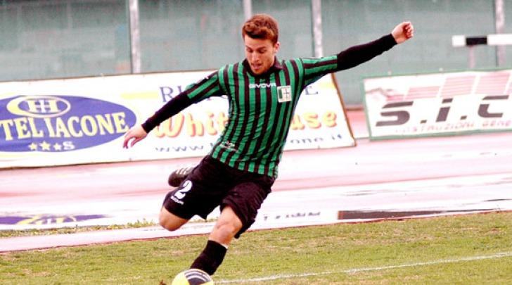 Marco Bigoni con la maglia del Chieti